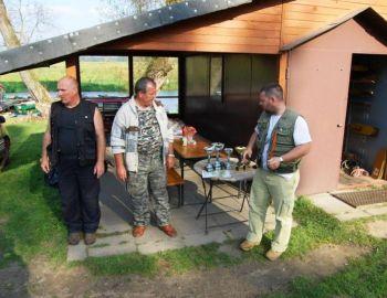 Towarzyski Dwumecz spinningowy kół 77 i 79 - Strzyże 01.10.2011